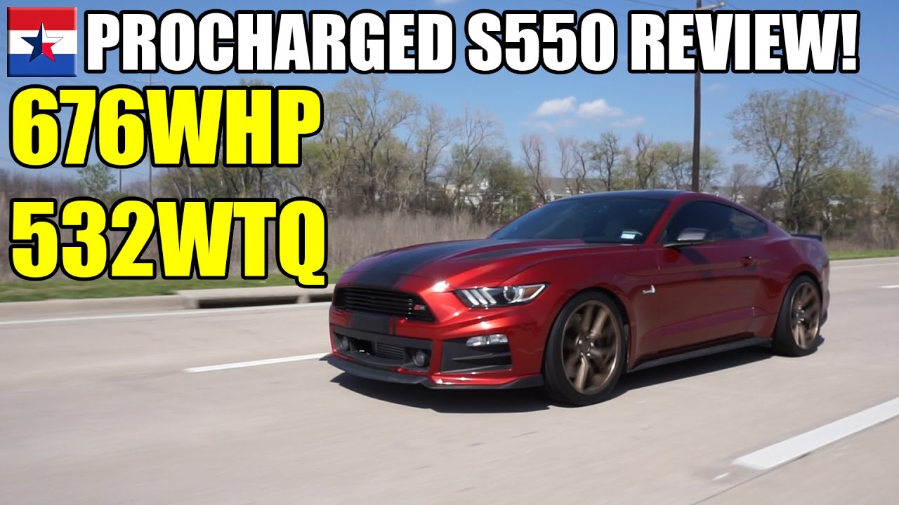 Procharged 2015 Mustang GT // Review