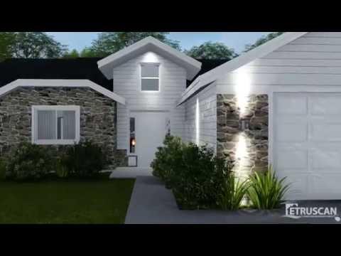 House Plan Virtual Tour - 3 Bedroom House – 1,711 Square Feet