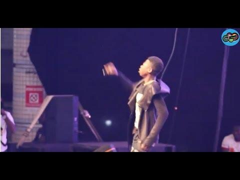 Reaction to MC one au concert de  kaaris 2017
