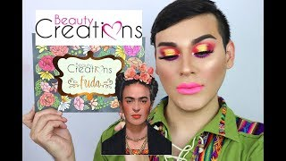 FRIDA KAHLO BEAUTY CREATIONS palette / reseña , primera impresión y look de maquillaje Video