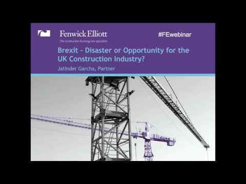 Construction Law Update Webinar 2016