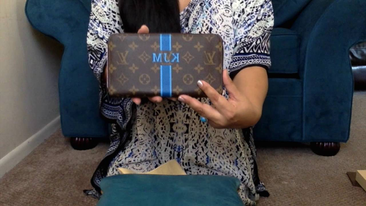afb84bef3adc Louis Vuitton Mon Monogram Zippy Organizer Unboxing - YouTube
