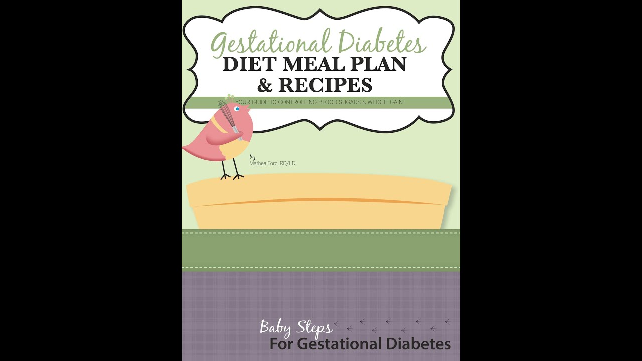 Gestational Diabetest Meal Plan