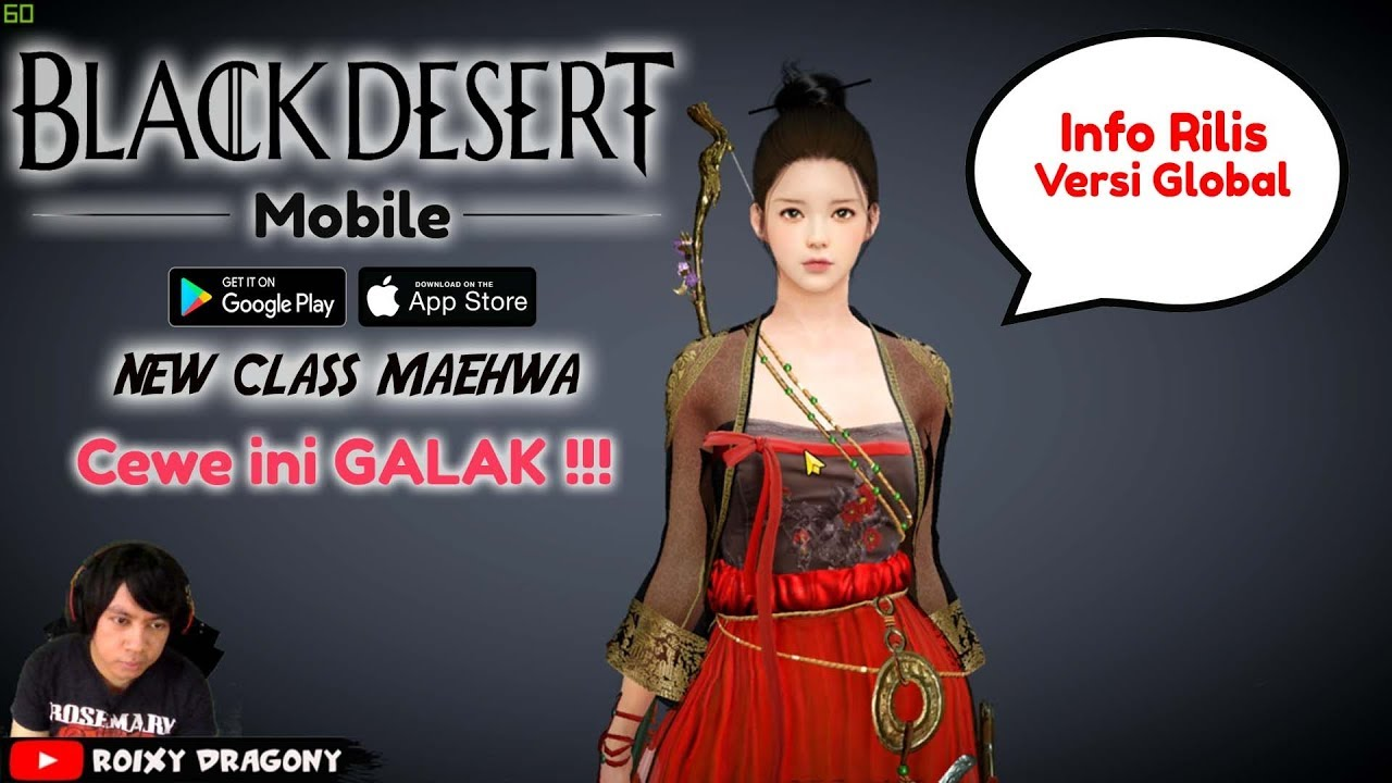 New Class Maehwa !!! Black Desert Mobile (KR) Android/iOS MMORPG