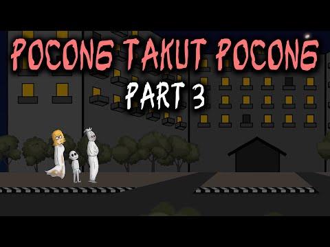 Pocong Takut Pocong - Part 3 | Animasi Horor Kartun Lucu | Warganet Life