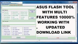 Asus Flash Tool Pro 2018