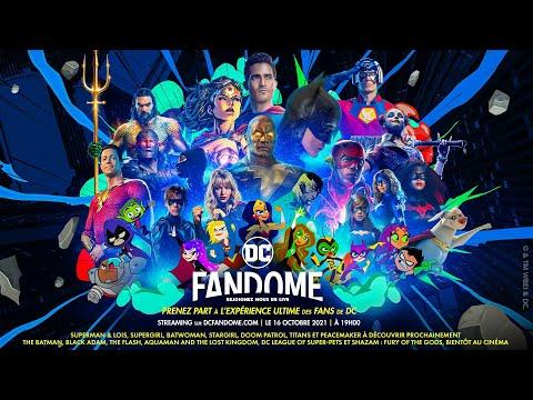 DC FanDome - Rendez-vous le 16 octobre 2021 !