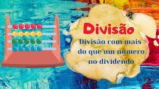 Divisão com mais de um número no dividendo - Matemática 1º ciclo - O Troll explica...