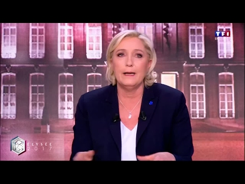 "Marine Le Pen: ""For Emmanuel Macron, France is a trading floor"""