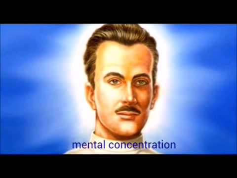 ANDRE LUIZ SPIRIT BY THE MEDIUM CHICO XAVIER - ABOUT MENTAL CONCENTRATION