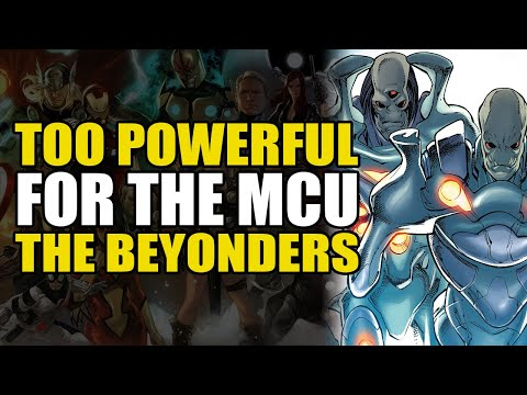 Too Powerful For Marvel Movies: The Beyonders | Comics Explained