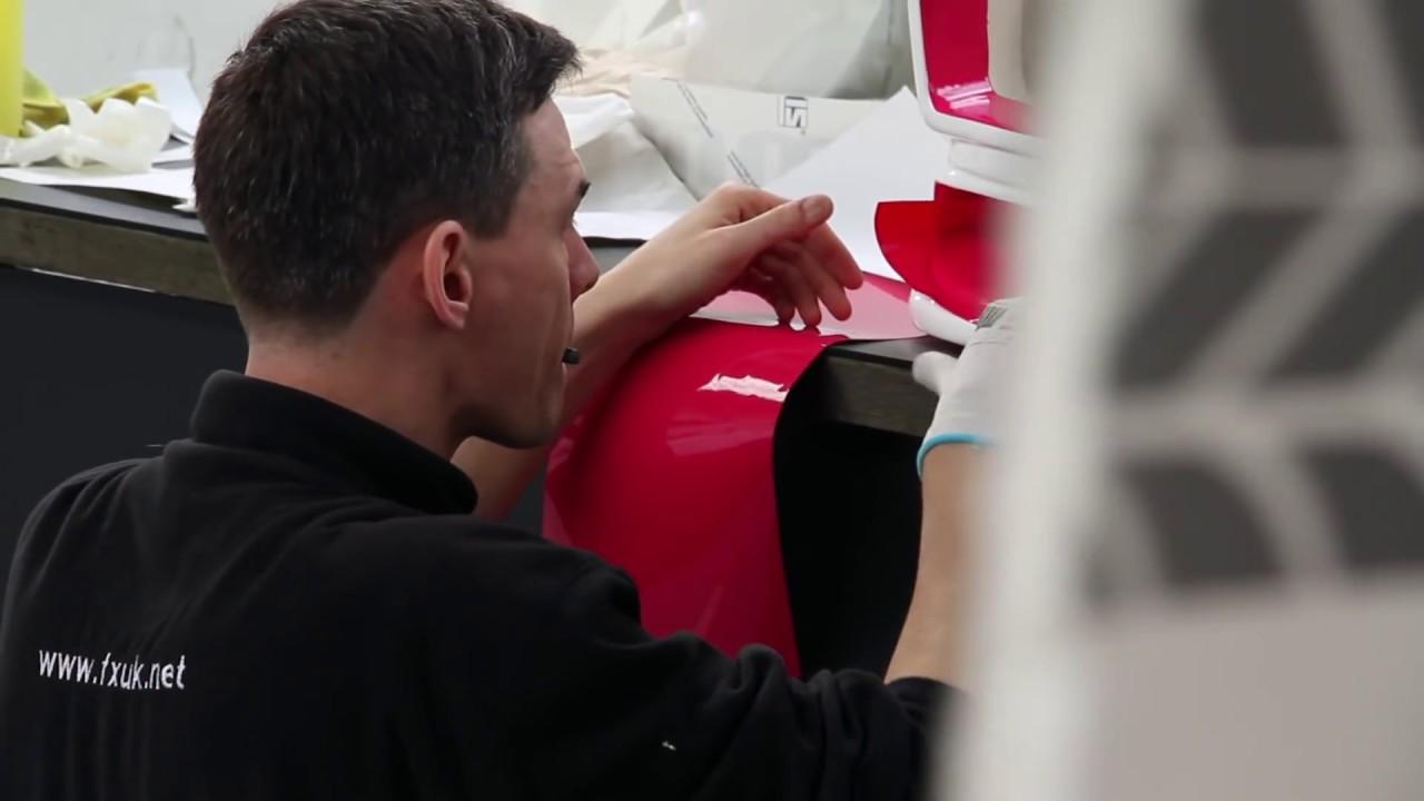 Creative Fx And Hexis Skyline Drift Car Wrap Nick Brady Drift