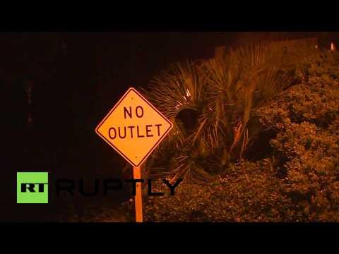 USA: Hurricane Arthur hits East Coast