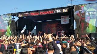 Chelsea Grin My Damnation Live Vans Warped Tour In Pomona California 6 21 18