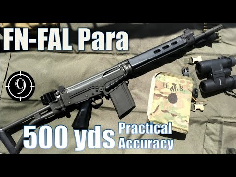 FN FAL Para To 500yds: Practical Accuracy (Iron Sights, South African)