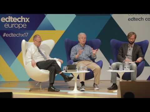 EdTechxEurope 2017 panel - Fostering Innovation in Education Institutions
