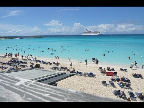 Half Moon Cay (Little San Salvador) Cruise Private Island Video Tour and Slideshow