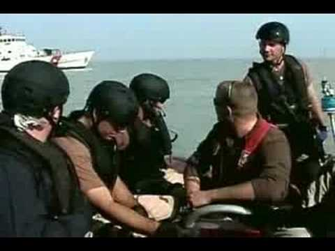 Port Security Unit 309 in Middle East
