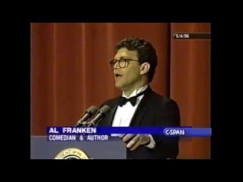 Al Franken at the 1996 White House Correspondents Dinner ( 1996)