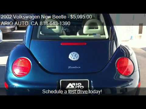 2002 Volkswagen New Beetle GLS 1.8T - for sale in N. HOLLYWO