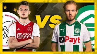 EDIVISIE | Halve finale: Ajax - FC Groningen