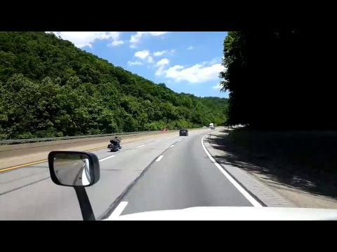 BigRigTravels LIVE! - Nitro to Standard, West Virginia - Interstate 77 - June 2, 2017