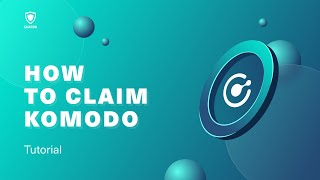 How to stake Komodo (KMD) with…