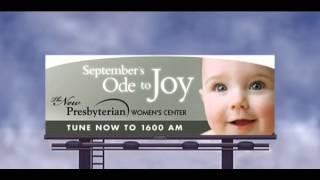 ode to joy talking billboard