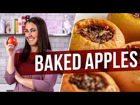 How to Make Classic Baked Apples