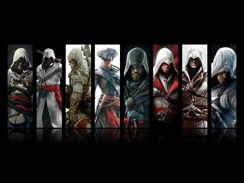 ASSASSINS CREED - EVOLUTION 2007 UNTIL 2017 Poster