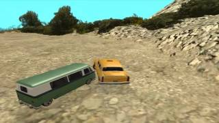 Loquendo  Gta San Andreas Haciendo gilipolleces con cj , tio gilipollas y marulete