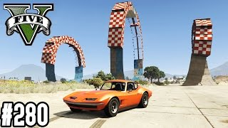 TRIPLE LOOPING MIT KLASSIKERN & PANTO TROLL RENNEN ! (+DOWNLOAD) | GTA V - CUSTOM MAP RENNEN