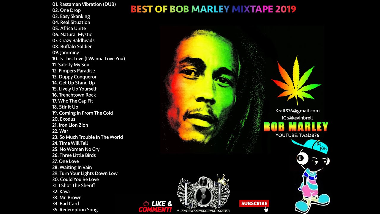 Best Of Bob Marley Mix 2019 Youtube