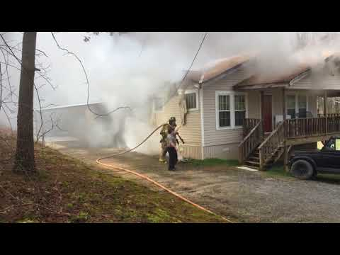 Neighbors Quick 911 Call Prevents Complete Structural Loss From Fire