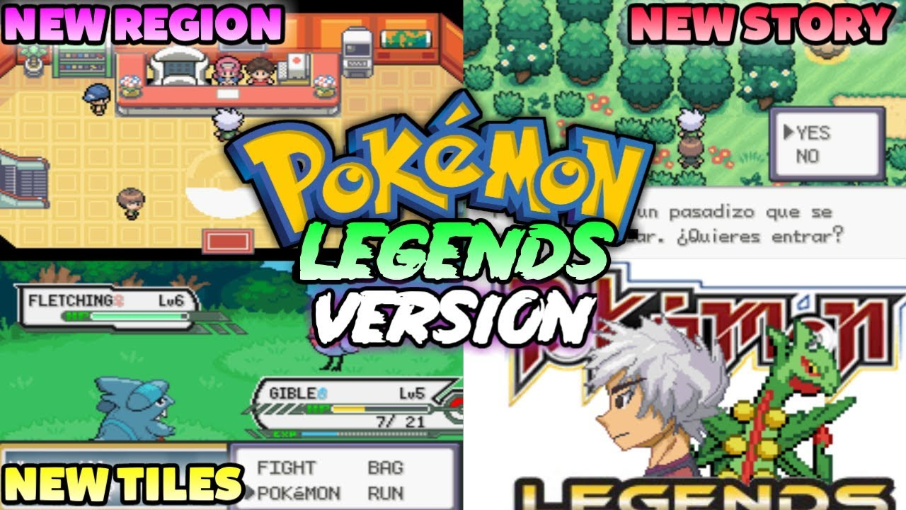 New Pokemon Gba Rom Hack With New Starter Dungeons Gen 7 New Story New Region Youtube