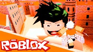Roblox → MATADOR DE TITÃS! - Attack On Titan: Downfall 🎮