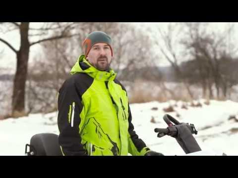 Тест-драйв снегохода Stels 'Мороз'