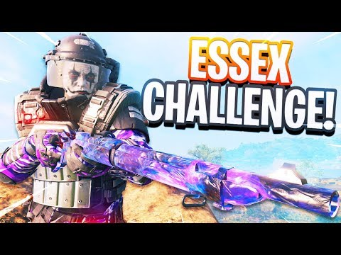 CoD BLACKOUT   SPEROS ATTEMPTS THE ESSEX CHALLENGE!!!! CAN HE DO iT???