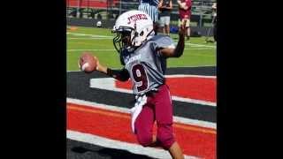 My son Daivd's 2014 Football Highlights (5th Grade)