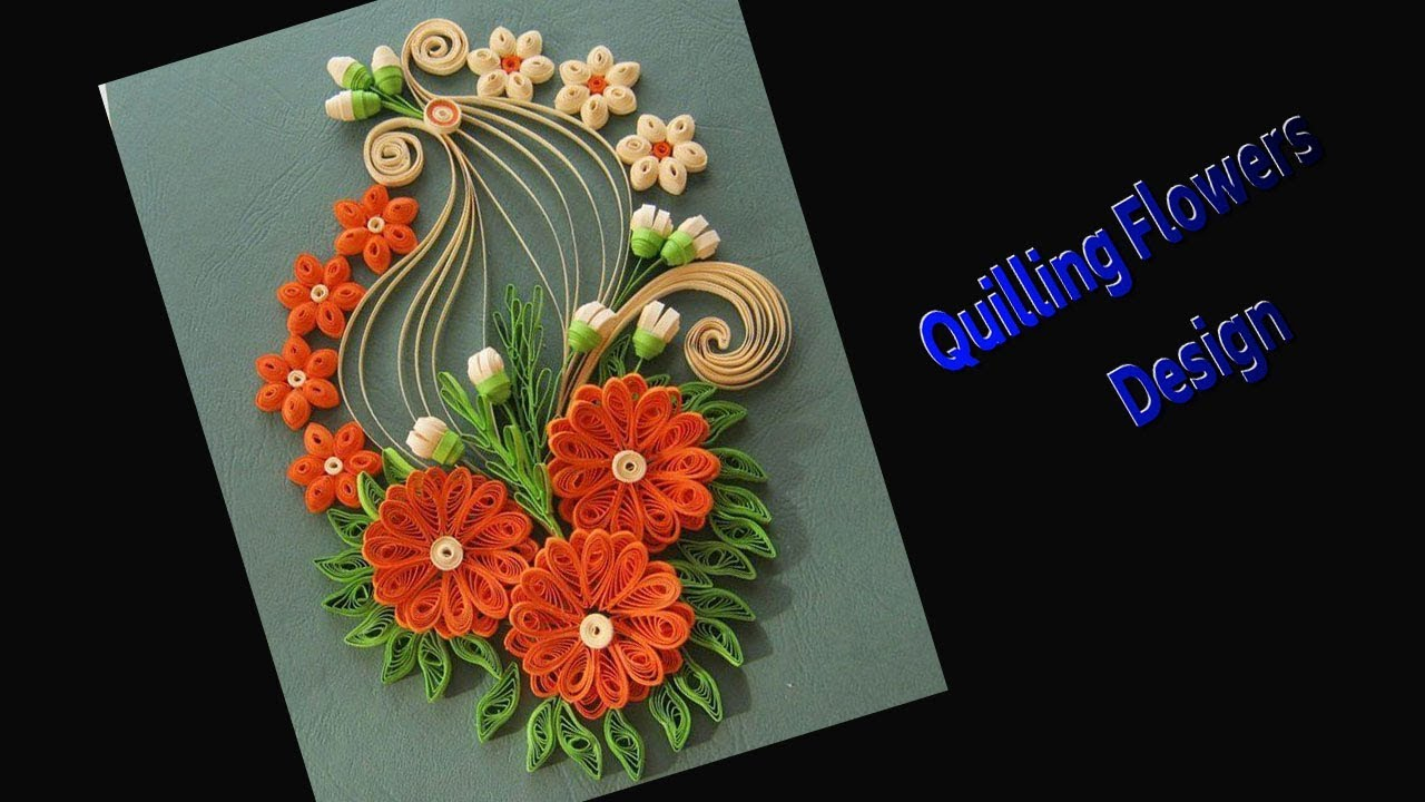 paper quilling card  how to make beautiful quilling