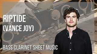 EASY Bass Clarinet Sheet Music: How to play Riptide by Vance Joy
