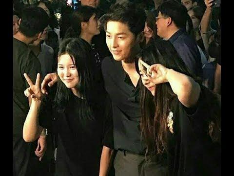 "01/08/17 Song Joong Ki ❤at Hongdae for Filming ""Guerllia Date"" Program"
