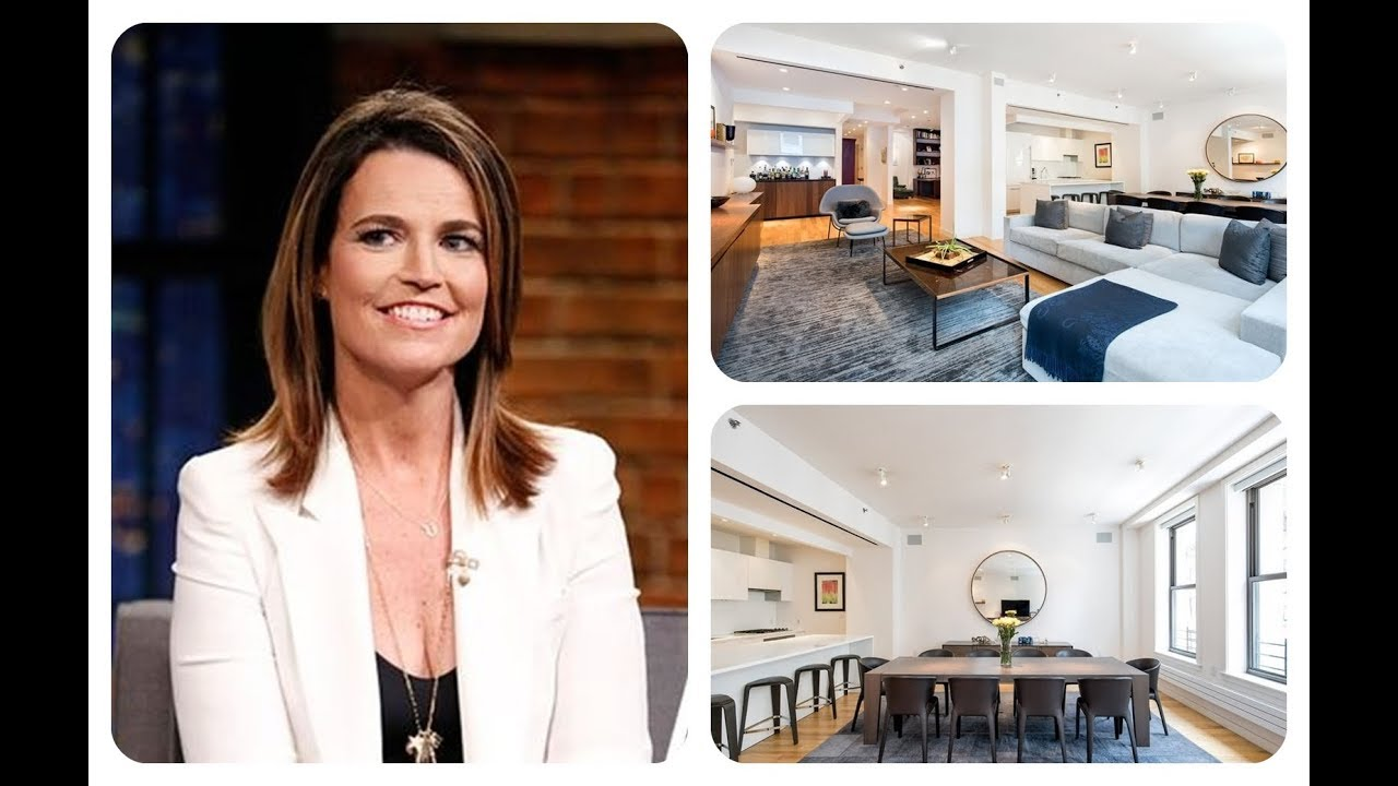 Tour Today Show Anchor Savannah Guthrie S Tribeca Apartment Hd