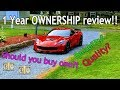 Chevrolet C7 Corvette Z06 1 year later. My ownership review!!