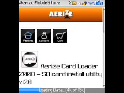 Install a BlackBerry application OTA