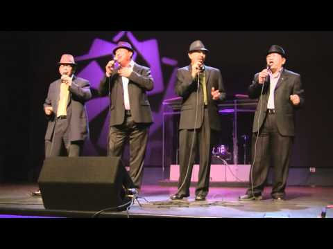 Fenny, Sal, Bob and Edgar from The Classic Harmony Live at Halo-Halo Holiday Special Concert