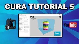 Beginner Cura Tutorial 5 - Multiple Colors in a Single Print!