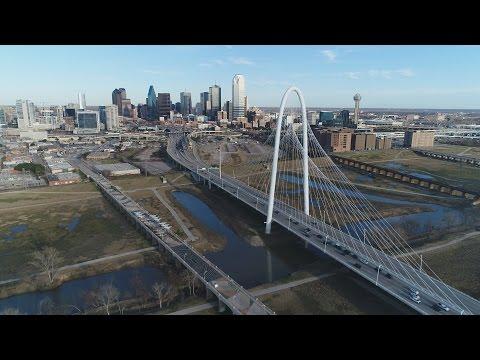 Aerial Dallas, TX Gateway City