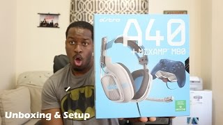 Astro A40 + Mixamp M80 Xbox Edition Headset Unboxing & Setup