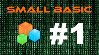 Programming Tutorial - Small Basic #1